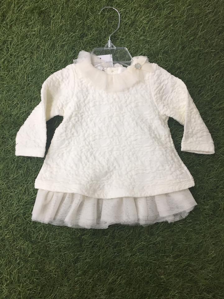 80481291e074 Paz Rodriguez girls cream dress - little Boppers