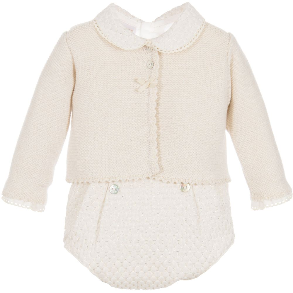 6788a287c39f Paz Rodriguez Gold 3-Piece Baby Outfit - little Boppers