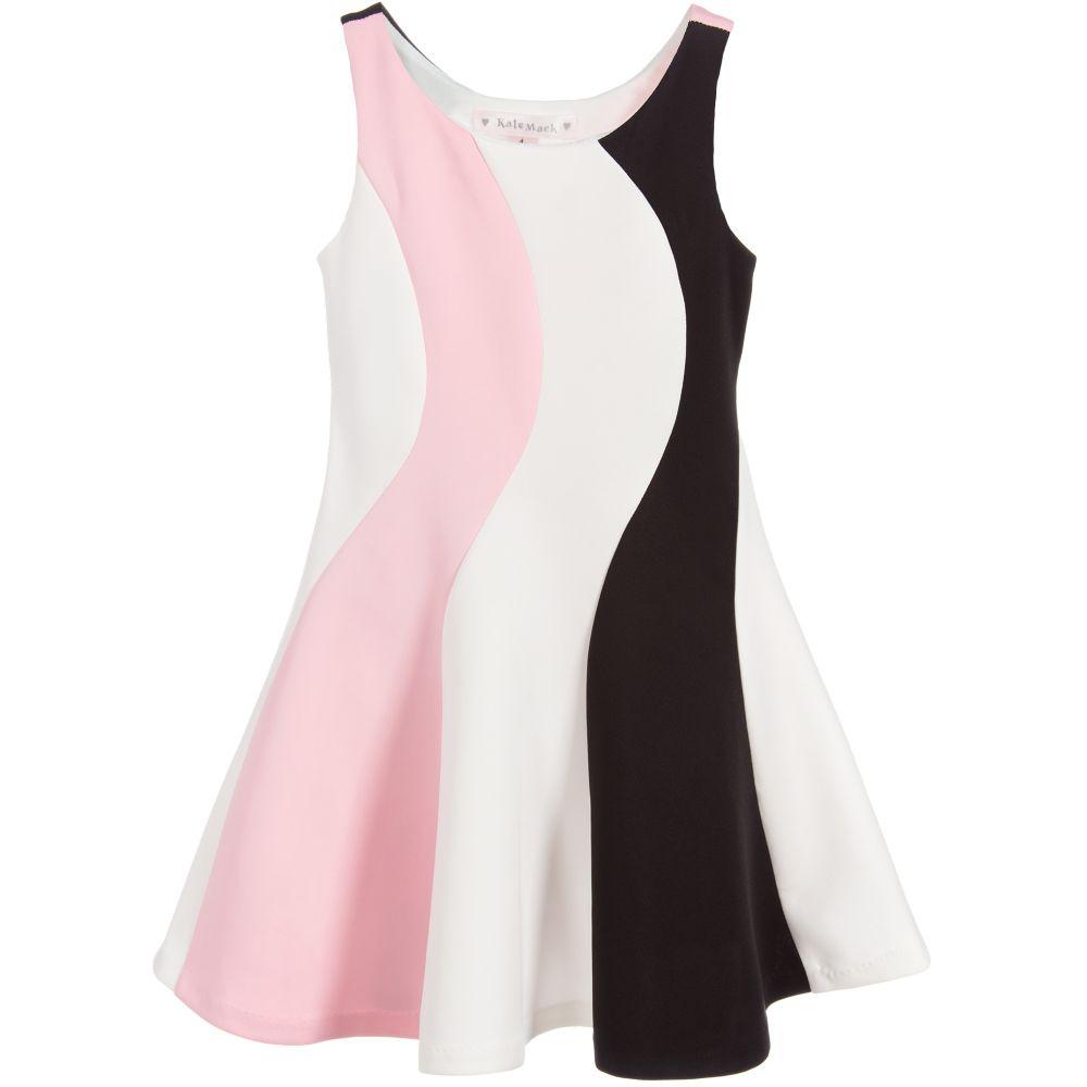 2fd2bd2d005fa Kate Mack   Biscotti Girls Striped Jersey Dress