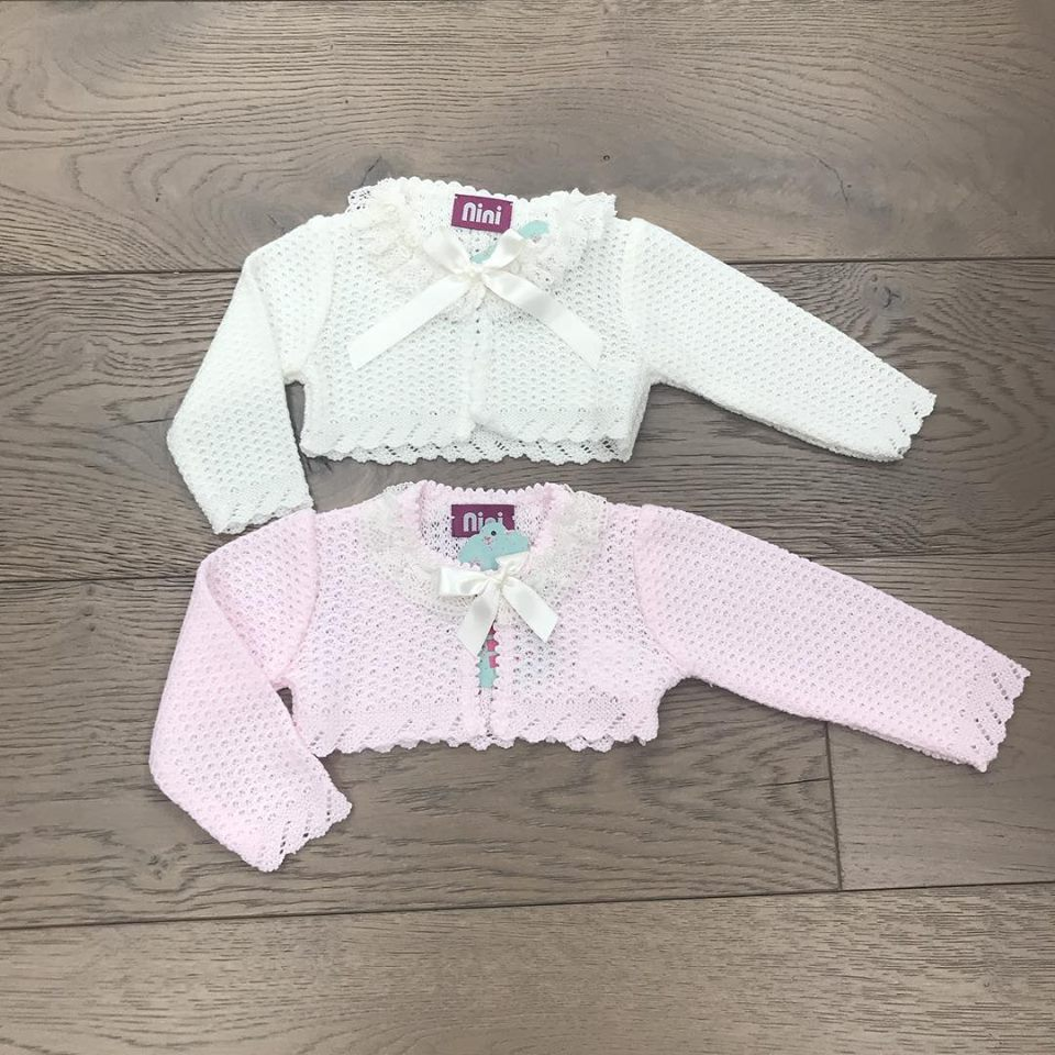17cff95d0 Nini Baby Girls Knitted Cardigan - little Boppers
