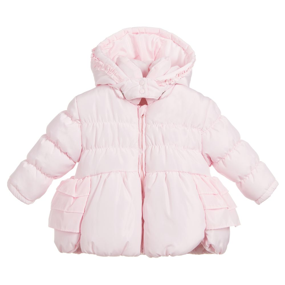 1b5f33041 Tutto Piccolo Girls Pink Padded Coat - little Boppers
